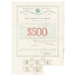 Triunfo Silver Mining and Commercial Co. of Lower California, 1868 Bond.