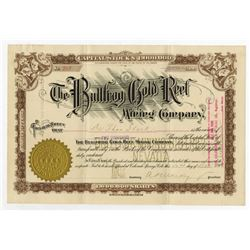 Bullfrog Gold Reef Mining Co., 1906 Issued Stock Certificate