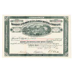 Boston & Montana Gold Mining Co.