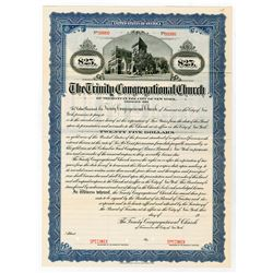 Trinity Congregational Church, ca.1910-1930 Specimen Bond