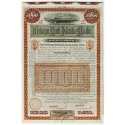 Chicago, Rock Island and Pacific Railway Co., 1884 Specimen Bond