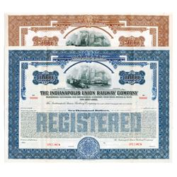 Indianapolis Union Railway Co., 1930 Specimen Bond Pair