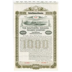 Southern Indiana Railway Co., 1901 Specimen Bond.