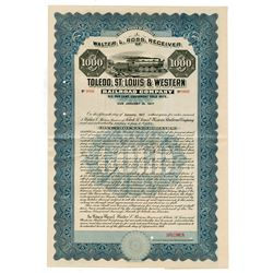 Toledo, St. Louis & Western Railroad Co., 1916 Specimen Bond