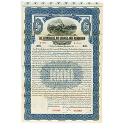 Evansville, Mt. Carmel & Northern Railway Co. 1910 Specimen Bond