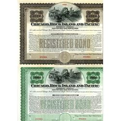 Chicago, Rock Island and Pacific Railway Co., 1902 Bond Pair