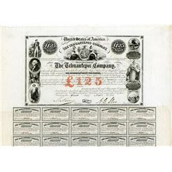 Tehuantepec Co., 1853 Issued Bond