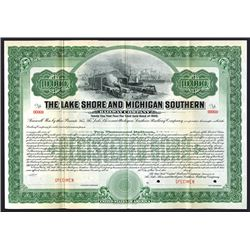 Lake Shore and Michigan Southern Railway Co., 1906 Specimen Bond.