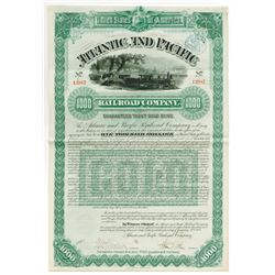 Atlantic and Pacific Railroad Co., 1887 Issued Bond