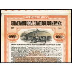 Chattanooga Station Company Specimen Bond.