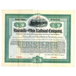 Knoxville and Ohio Railroad Co., ca.1900-1910 Specimen Bond