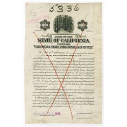 "State of California, 1929 Proof ""California State Park Bond Act of 1927""."