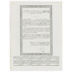 Louisiana State Issued Bond Annex, 1848