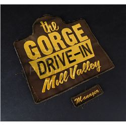 Scary Stories - 'The Gorge Drive-In' Attendants Patch (0151)