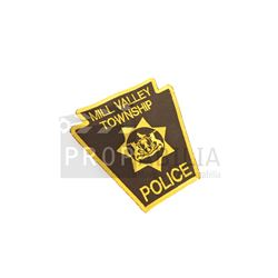 Scary Stories - Mill Valley Township Police Patch Movie Prop (0389)