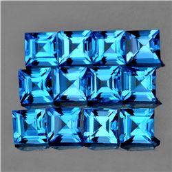 Natural Swiss Blue Topaz {Flawless-VVS1}