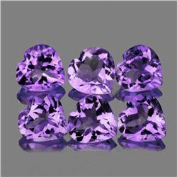 Natural Purple Heart Amethyst 10 mm - VVS
