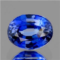 Natural Rare Royal Blue Benitoite 6x5 MM - Certified