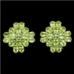 Natural Peridot 46 carats Earrings