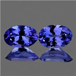 Natural Purple/Blue Tanzanite 6x4 mm - AAA