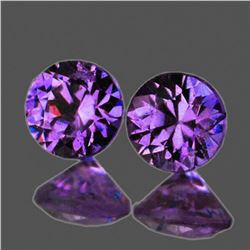 NATURAL VIOLET-PINK SAPPHIRE PAIR