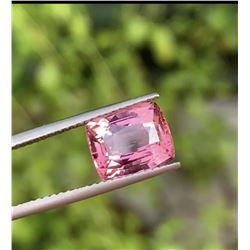 Natural Padparadscha Mahenge Spinel 3.24 Ct  Certified
