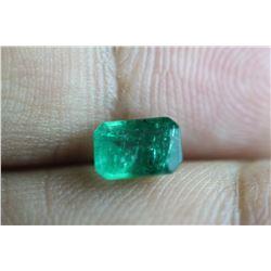 Natural Emerald 1.01 Carats - no Treatment