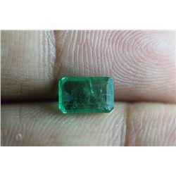 Natural Emerald .95 Carats - no Treatment
