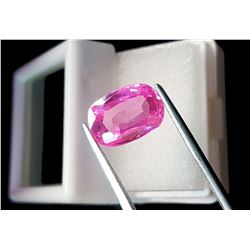 Natural Cushion Cambodian Zircon 7.48 Ct - Certified