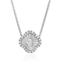 18k Gold 0.13CTW Diamond Necklace, (SI2/H)