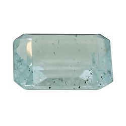 4.89 ct. Natural Emerald Cut Aquamarine
