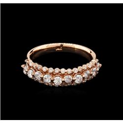 0.85 ctw Diamond Ring - 14KT Rose Gold