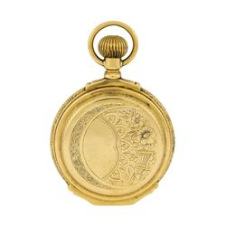 Vintage Waltham Pocket Watch - 14KT Yellow Gold