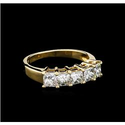 1.20 ctw Diamond Ring - 14KT Yellow Gold