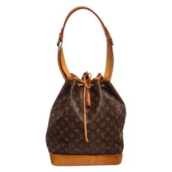 Louis Vuitton Monogram Canvas Leather Noe PM Drawstring Shoulder Bag