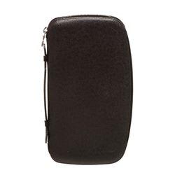 Louis Vuitton Black Taiga Leather Geode Organizer Wallet Clutch