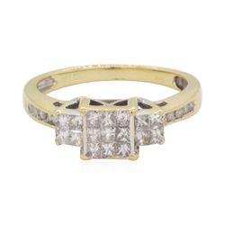 0.5 ctw Diamond Ring - 10KT Yellow Gold