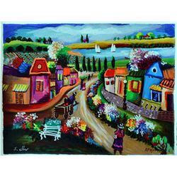 Delightful Shlomo Alter A Day in the Country