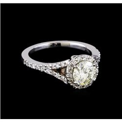 1.51 ctw Diamond Ring - 14KT White Gold