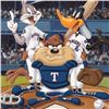 Image 2 : At the Plate (Rangers) by Looney Tunes