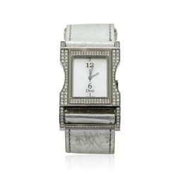 Christian Dior Diamond Wristwatch - Stainless Steel