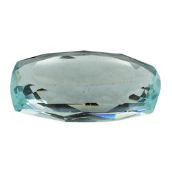 9.63 ct.Natural Cushion Cut Aquamarine