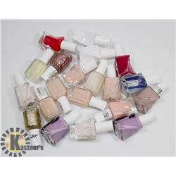 BAG OF ASSORTED ESSIE NAIL POLISH