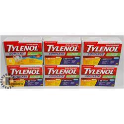 BAG OF TYLENOL COLD MEDICINE