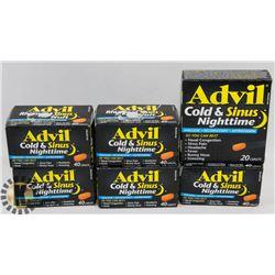 BAG OF ADVIL COLD MEDICINE