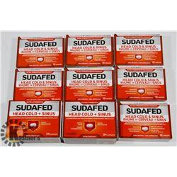 BAG OF SUDAFED COLD MEDICINE