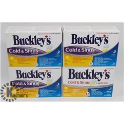 BAG OF BUCKLEY'S COLD MEDICINE