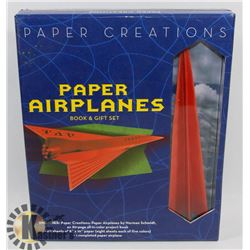 PAPER CREATIONS PAPER AIRPLANES BOOK AND