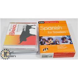 FLAT OF SPANISH LANGUAGE LEARNING  AIDS