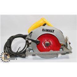 DEWALT DW 368 71/4 CIRCULAR SAW